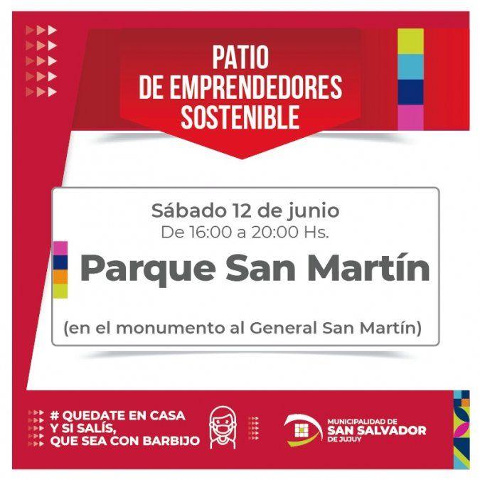 Invitan a feria de emprendedores sostenibles en el Parque San Martín
