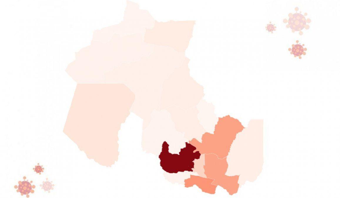 Con más de 2.000 casos, El Carmen es el segundo departamento más afectado
