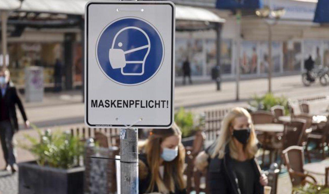 Alemania superó los 2 millones de casos de coronavirus