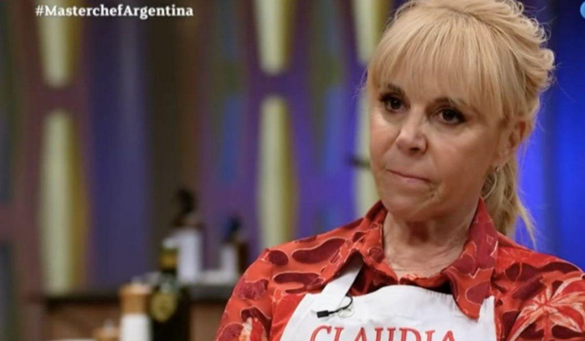 Así fue el regreso de Claudia Villafañe a Masterchef Celebrity