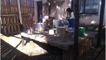 Un comedor cerrado y más de 80 niños sin alimentos por la falta pagos de Desarrollo Humano