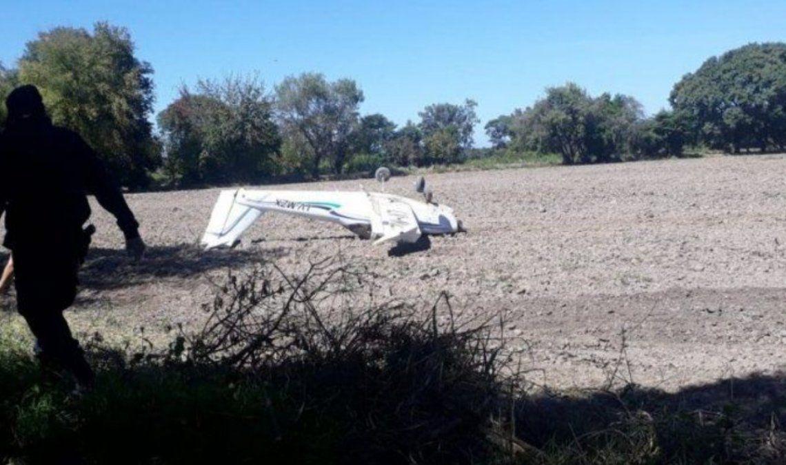 El Carmen: cayó una avioneta con dos ocupantes