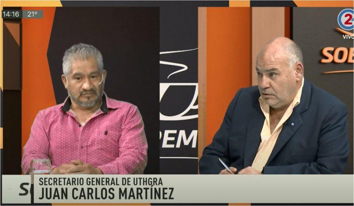Sobremesa: Juan Carlos Martínez