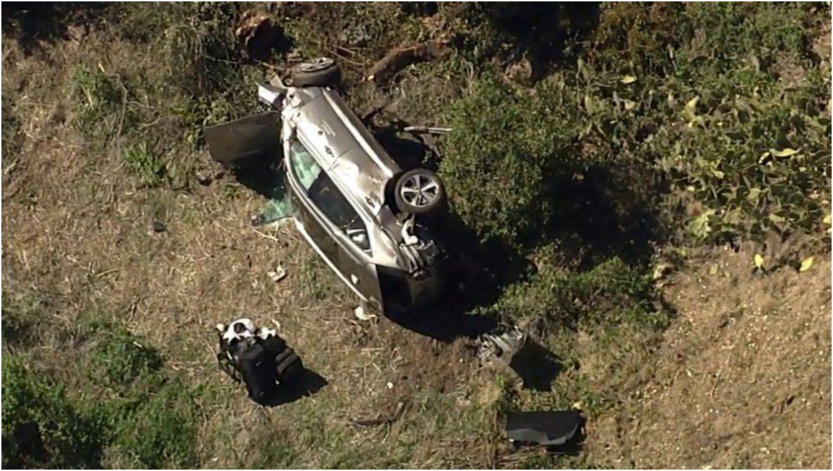 Tiger Woods sufrió un terrible accidente automovilístico