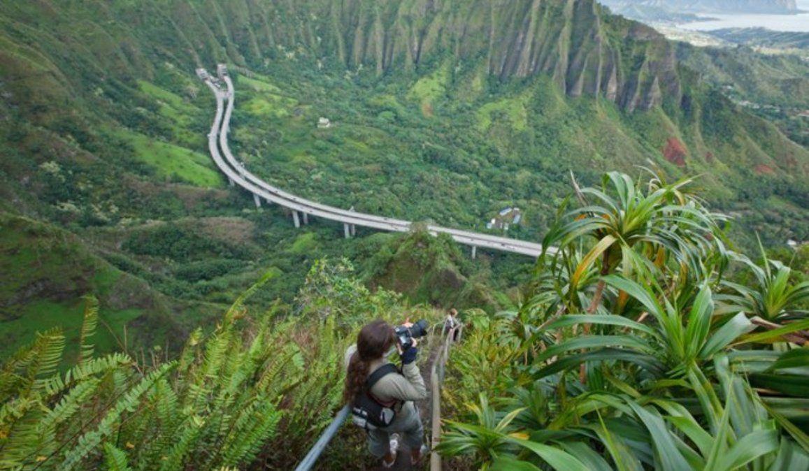 ¿Es el fin de la Escalera al cielo de Haiku en Hawái?