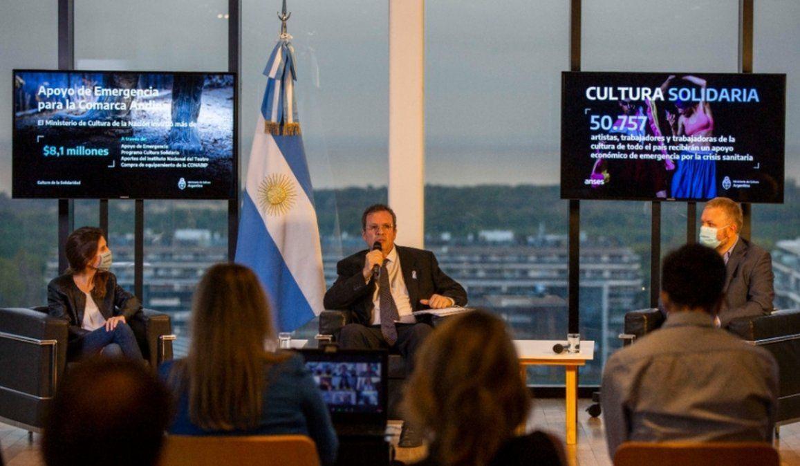Anunciaron medidas para sectores de la cultura golpeados por la pandemia