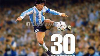 El particular pedido por el día de cumple de Maradona