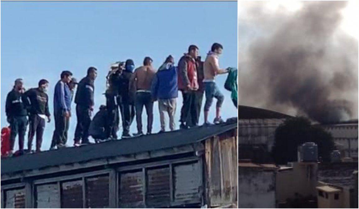 Motín en Gorriti: Presos se grabaron desde el techo del penal