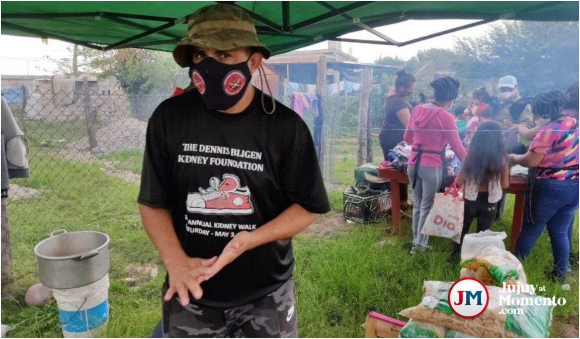Palpalá: Amenazaron al cocinero de Constitución para que deje el comedor barrial