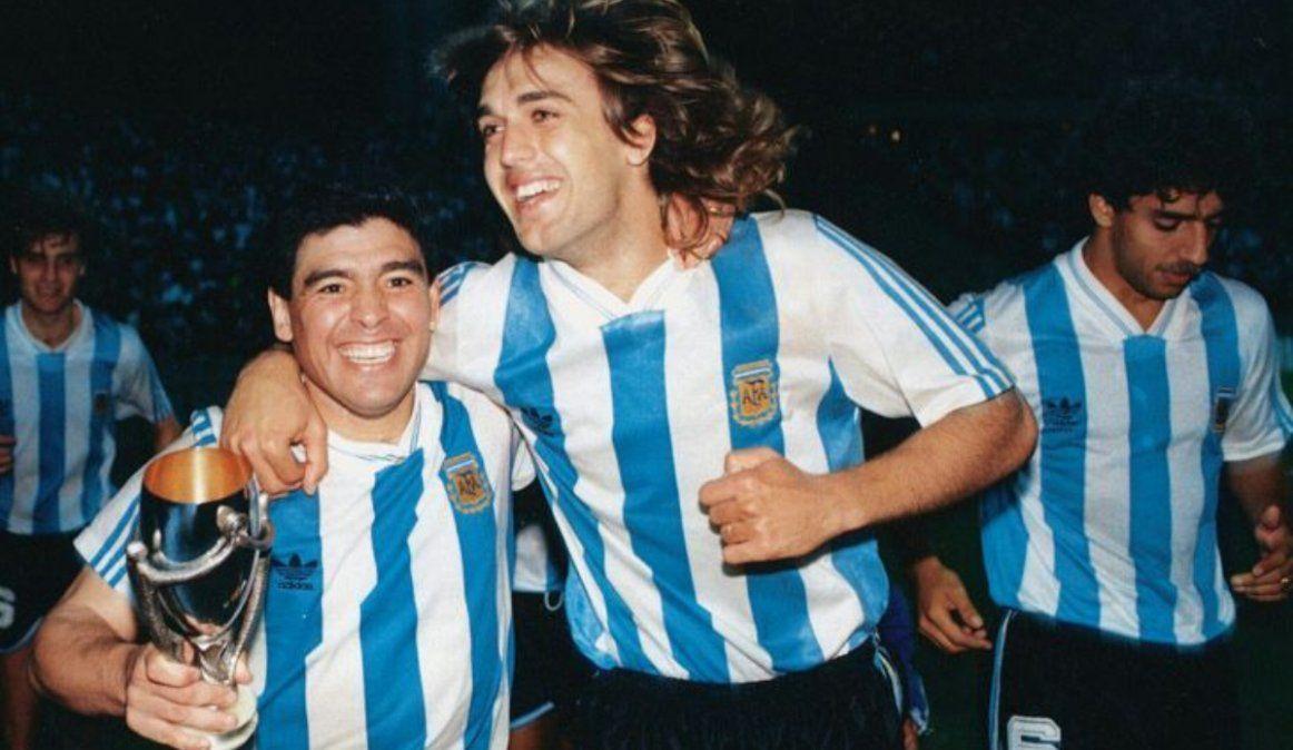 Copa Artemio Franchi, el último título de Maradona, con la Selección y ante su gente
