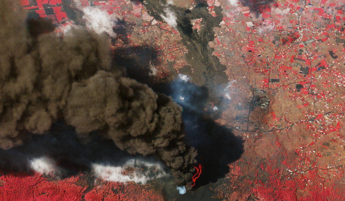 Tras casi tres semanas en erupción, el volcán de La Palma sigue haciendo estragos