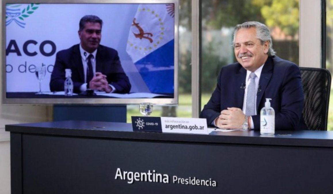 El presidente Alberto Fernández anunció inversiones en la industria textil de Chaco