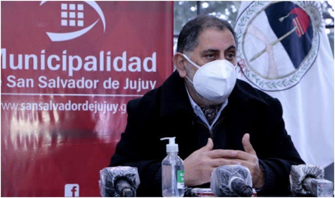 El test del intendente Raúl Jorge dio negativo