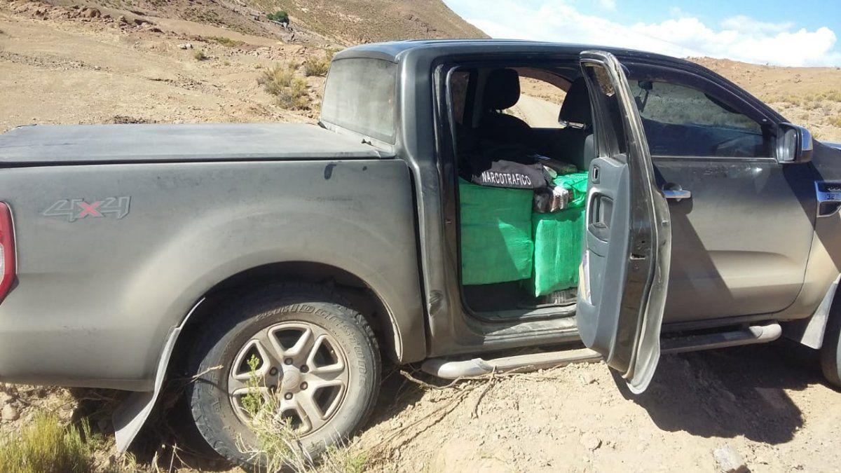 Un detenido con 750kg de hojas de coca