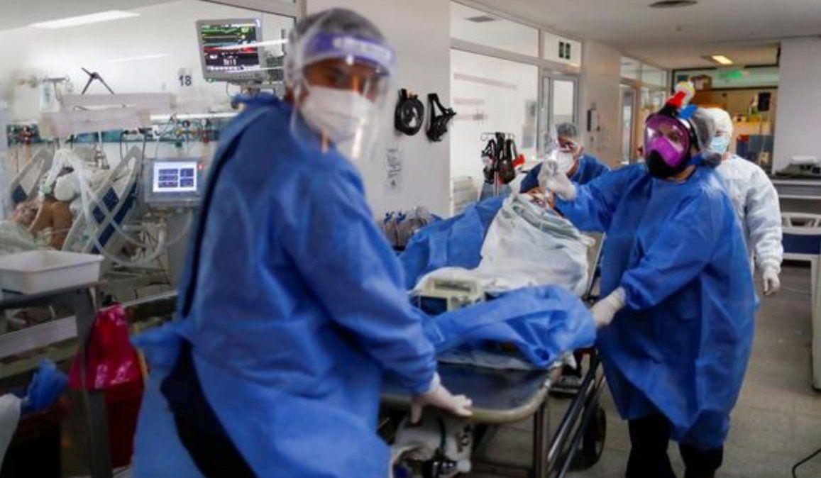 Argentina registró 438 muertes y 14.632 contagios en las últimas 24 horas