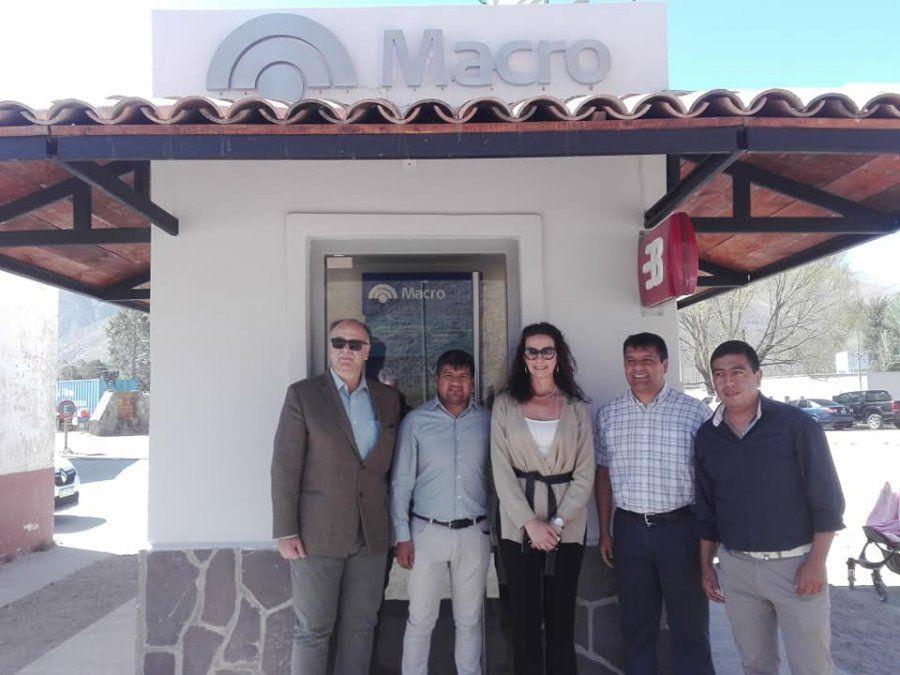 Banco Macro suma nuevo cajero automático en Jujuy
