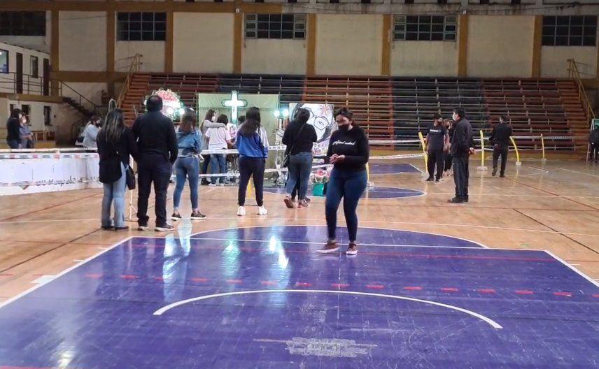 Último adiós a Iara Rueda en el Estadio Olímpico de Palpalá