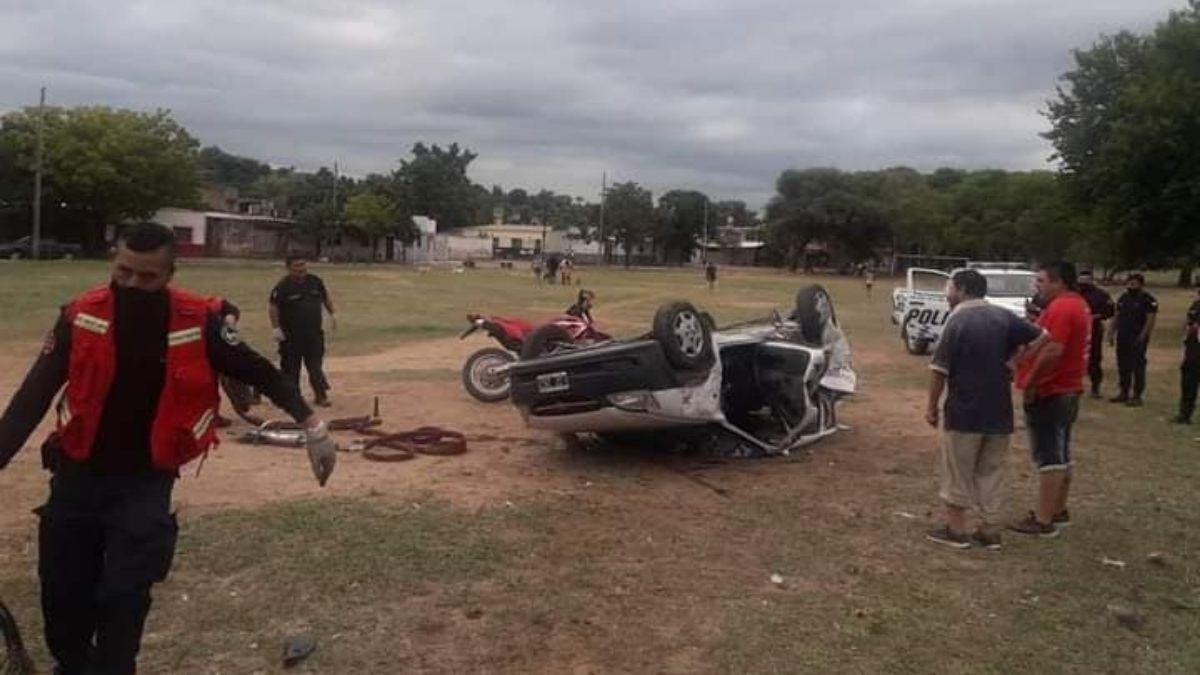 Accidente de tránsito en Ruta Nacional N° 34