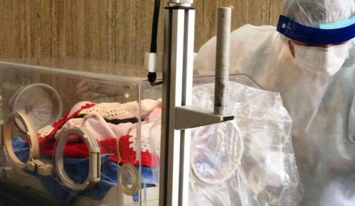 Nació el primer bebé en el Hospital de Campaña de Corrientes
