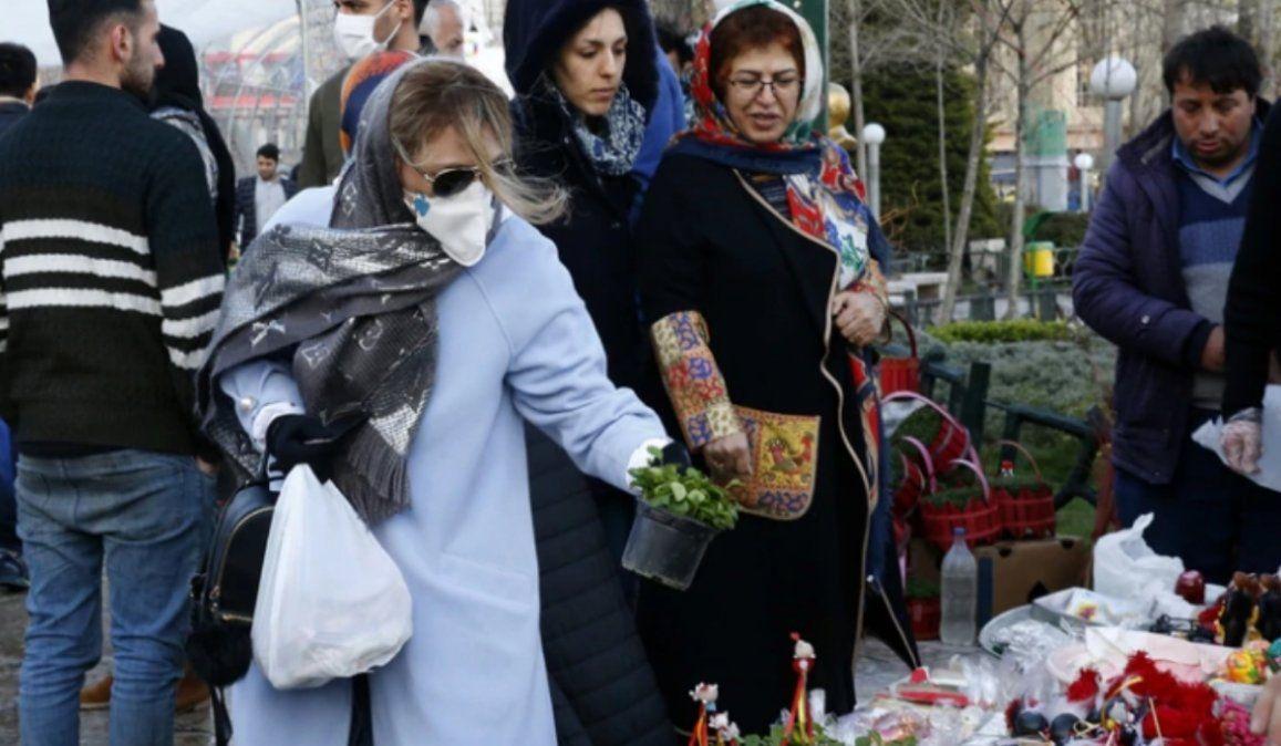 Irán superó los 2000 muertos por coronavirus y ya son 18.700 a nivel mundial