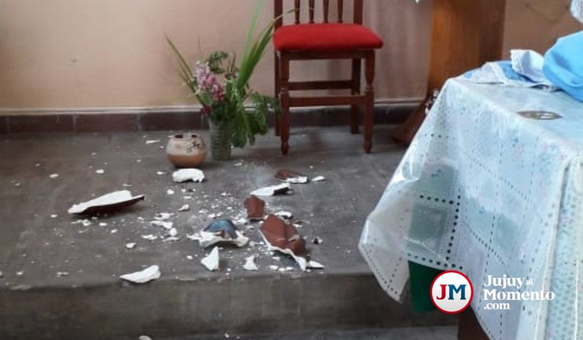 Perdimos a nuestro patrono, la tristeza en Colonia San José tras el sismo que causó daños en la Iglesia