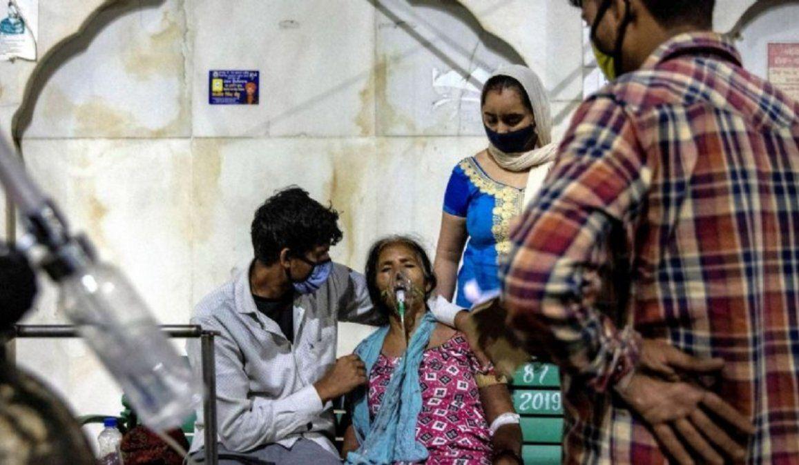 Hallan un nuevo microorganismo en la India, el peligroso hongo verde