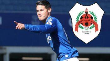James Rodríguez jugará en Qatar