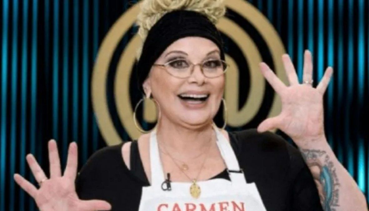 Carmen Barbieri confirmó el día de su vuelta a MasterChef: Estoy muy entusiasmada