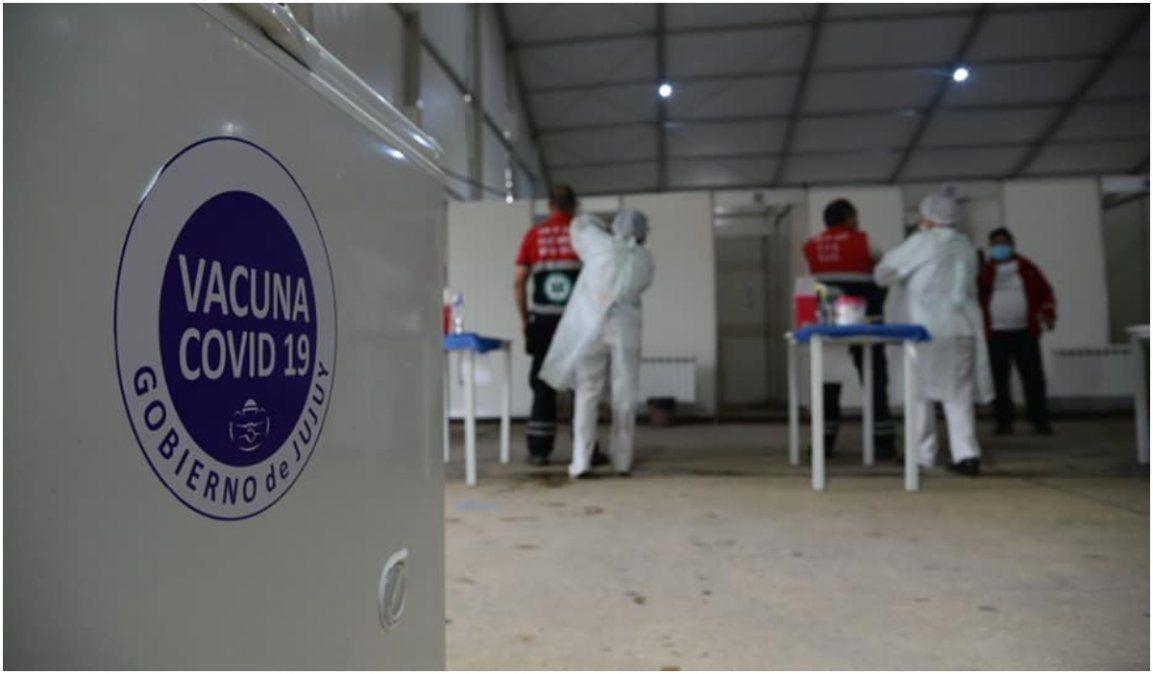 Así continúa el esquema de vacunación en Jujuy