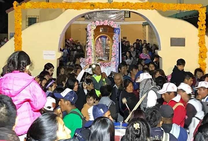 Devotos celebrarán el cumpleaños de la Mamita del cerro