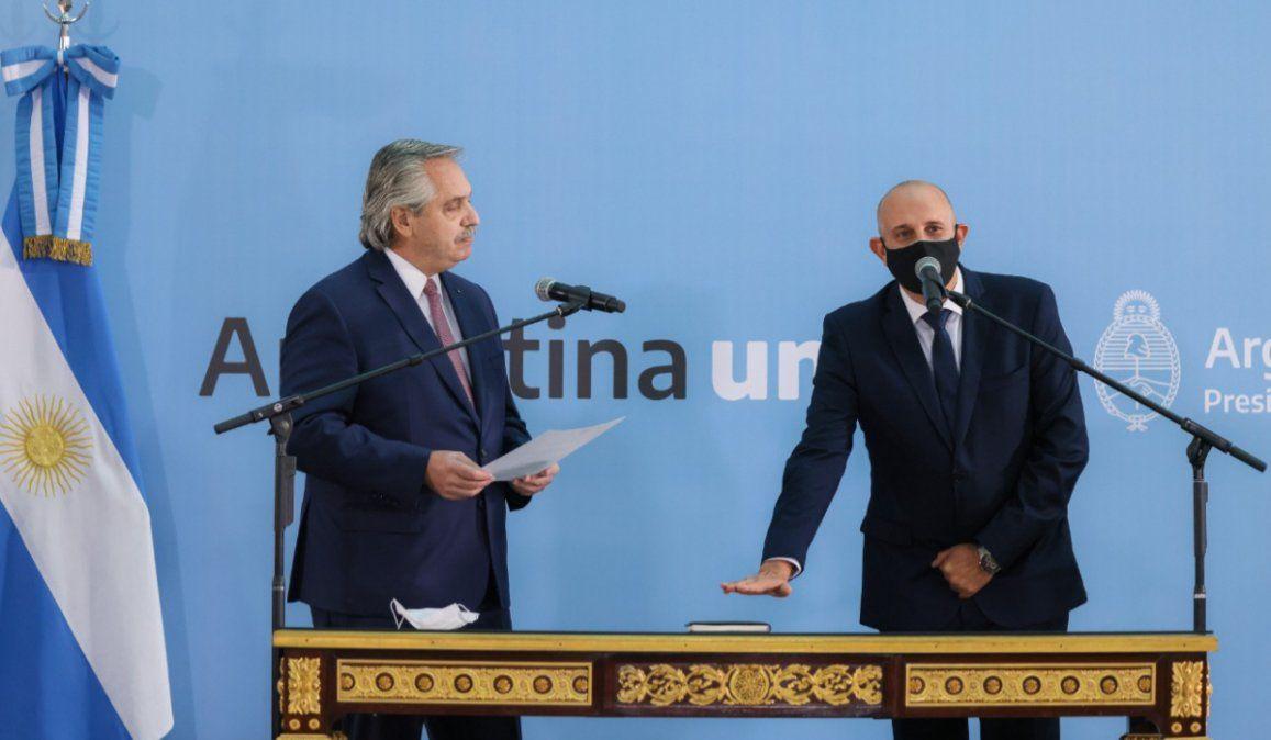 Asumió Alexis Guerrera como nuevo ministro de Transporte