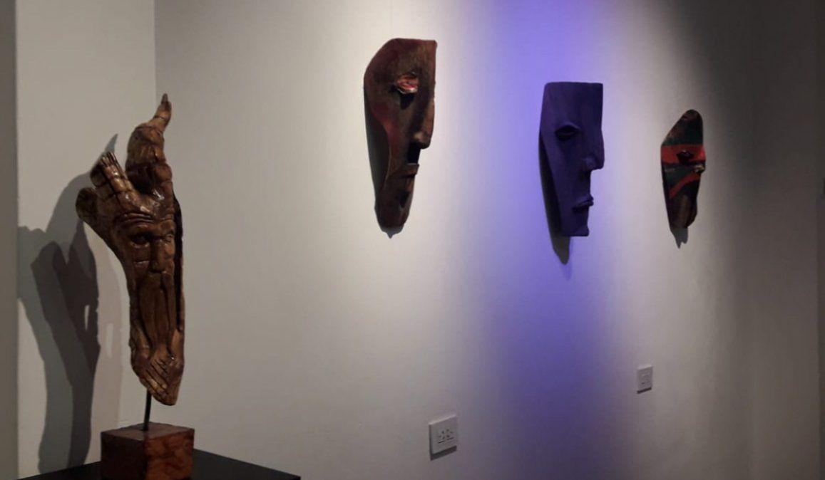 Se inauguró la muestra La máscara y yo, una introspección en pandemia
