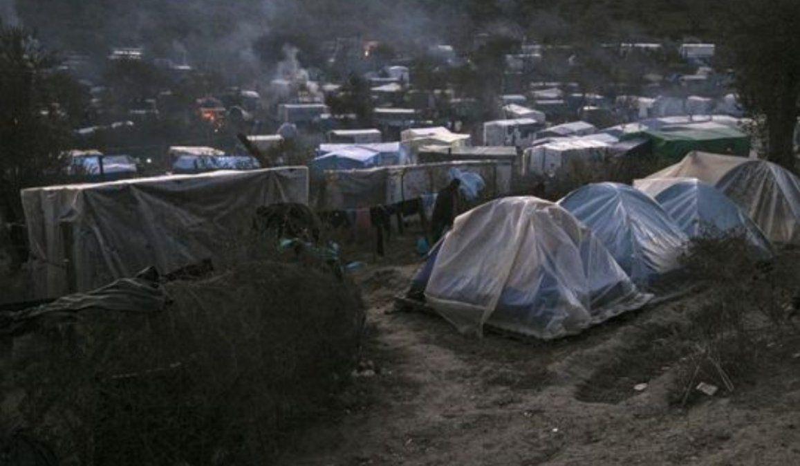 Crisis humanitaria: Grecia inauguró un campamento cerrado para migrantes