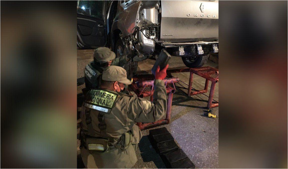 Cuatro bolivianos que partieron de La Quiaca fueron detenidos con 43 kilos de cocaína