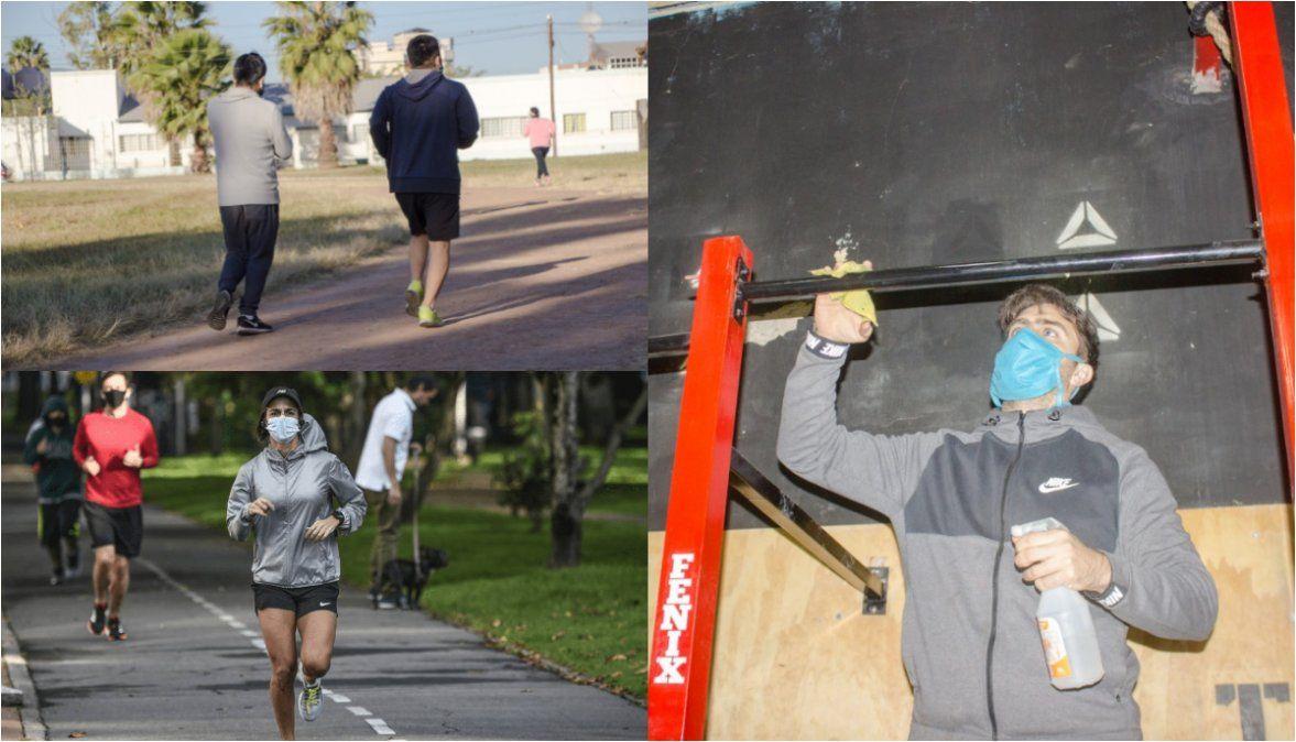 Actividades deportivas en espacios cerrados y al aire libre en Palpalá