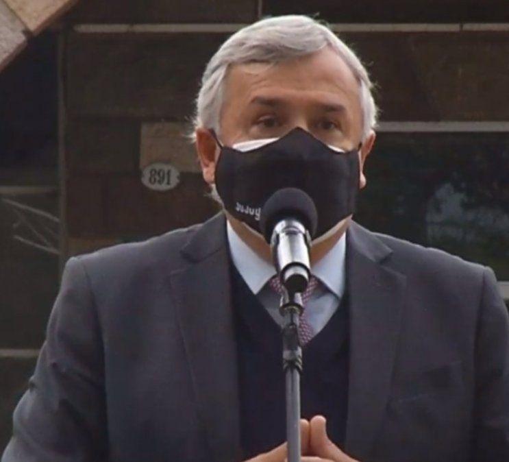 Gerardo Morales: La cepa de Manaos ya está en Jujuy