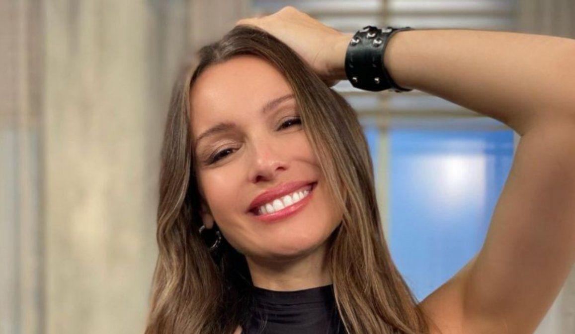 La primera foto oficial de Ana, la hija de Pampita y Roberto García Moritán