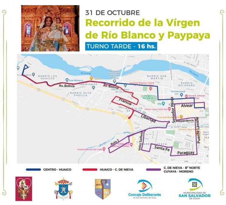 Cien años de la Coronación Pontificia de la Virgen de Río Blanco y Paypaya