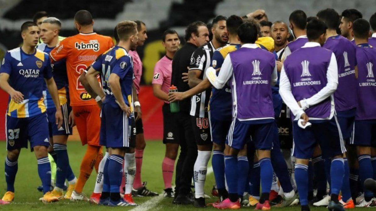 Atlético Mineiro eliminó a Boca por penales