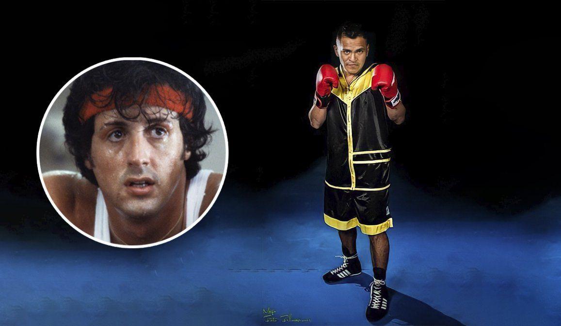 La Parca Quispe entrena al mejor estilo Rocky Balboa