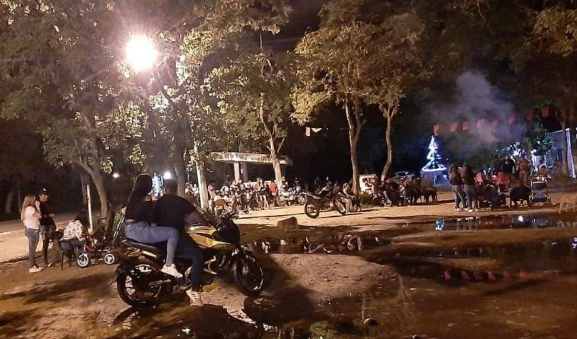 90 personas en una fiesta clandestina en Ledesma