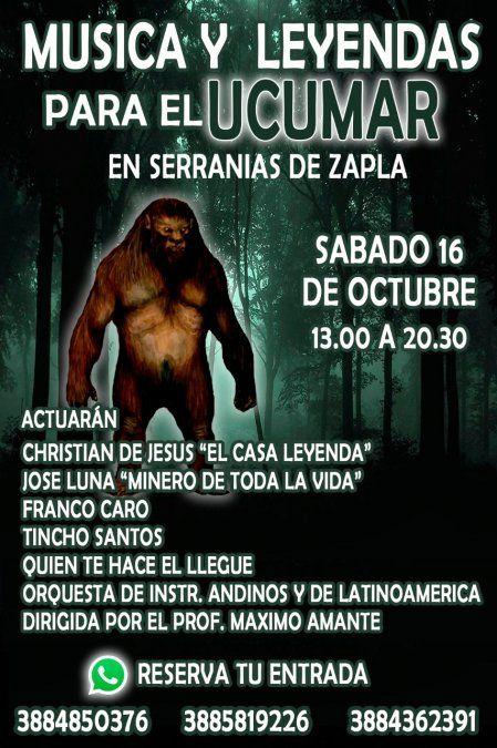 Festival de música y leyendas en las Serranías de Zapla