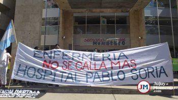 Nada que festejar: enfermeros lucharán contra la precarización en su día