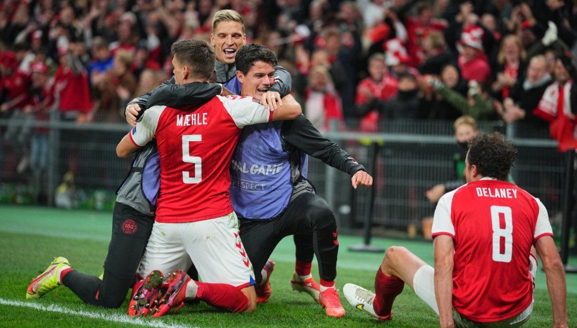 Dinamarca venció a Austria y se clasificó al Mundial de Qatar 2022