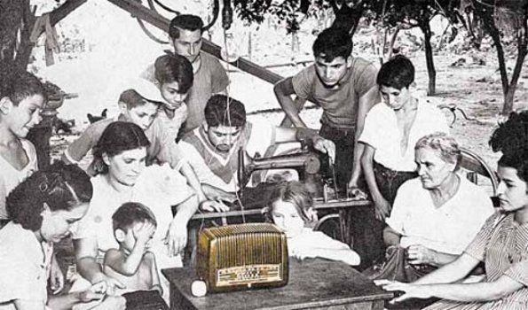 La magia de la radio…