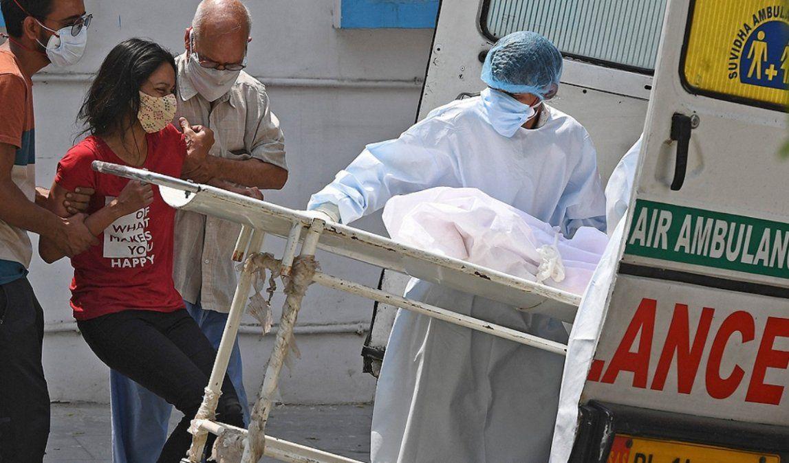 India, devastada por la pandemia registró nuevos récords muertes y contagios