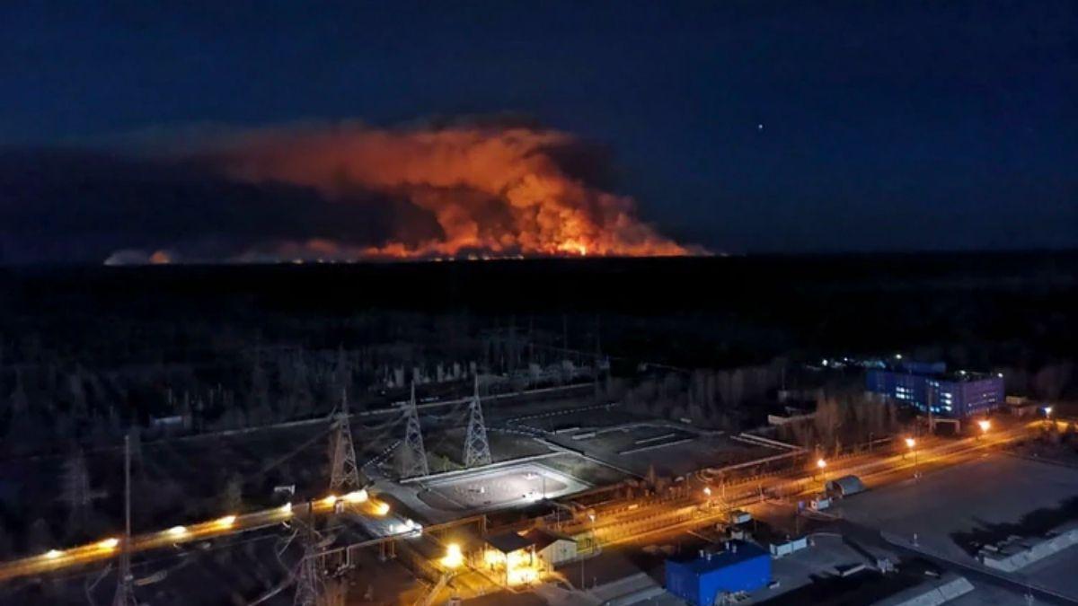 Alerta mundial en Chernobyl: los incendios se acercan a los residuos radiactivos