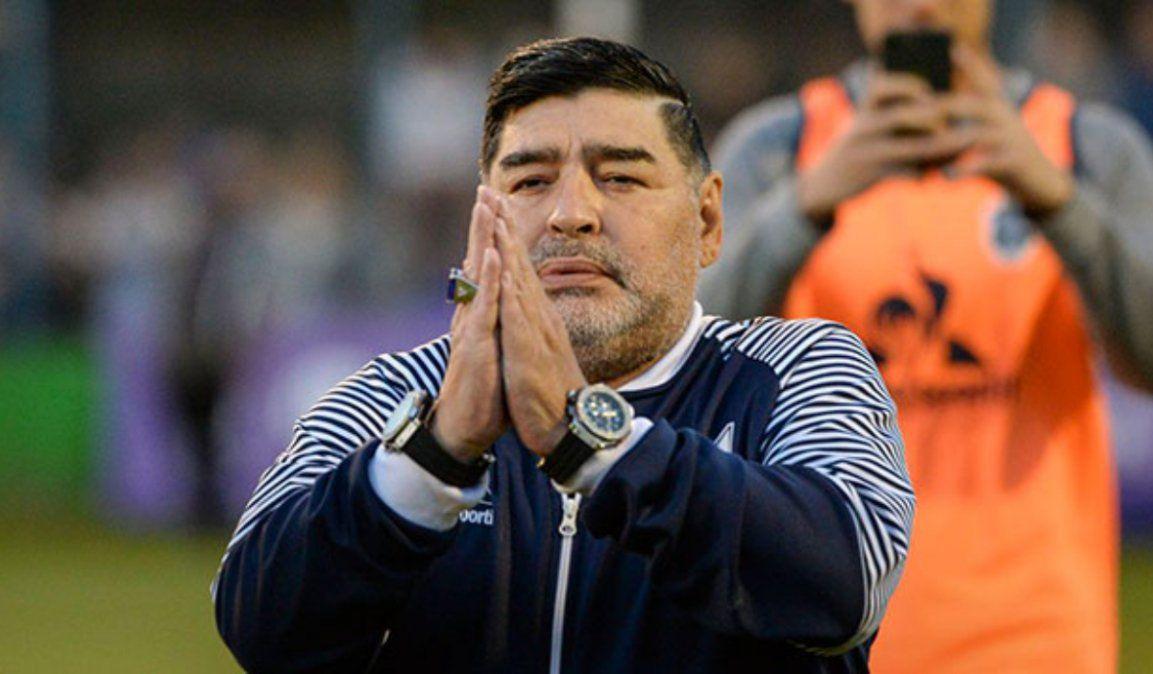 Maradona y su voluntad de ser embalsamado