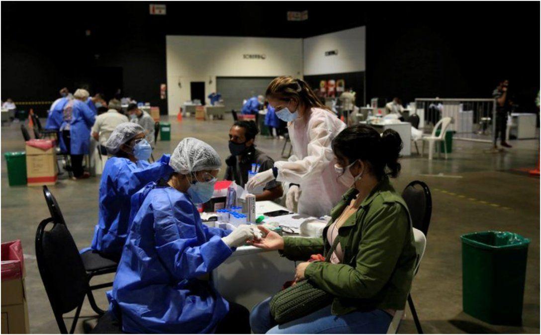 Confirman 13.500 contagios y 267 muertes en el país