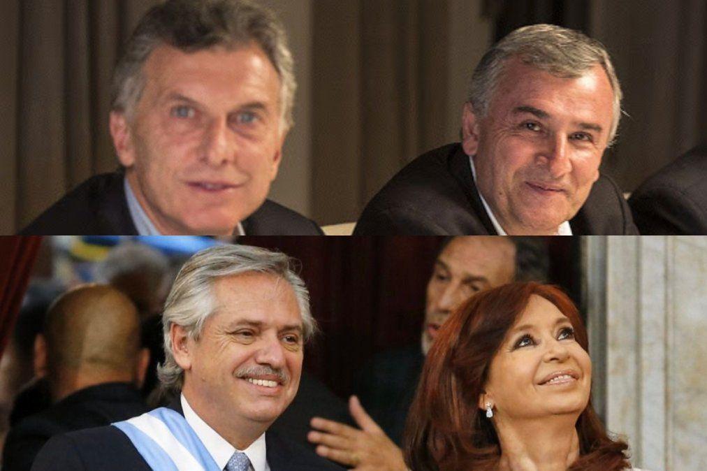 Morales, lejos de Macri, en sintonía con Alberto y Cristina